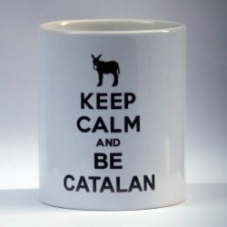 "Mug ""Keep Calm and be Catalan"""