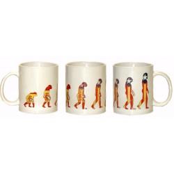 """Mug """"Evolution"""""""