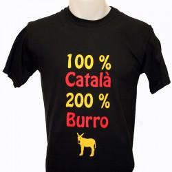 """T-shirt """" 100% Català..."""
