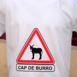 """T-shirt """" Cap de Burro """""""